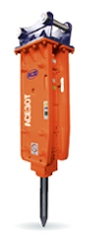 TOP type breakers to suit excavators: 2.5 - 4.5 ton
